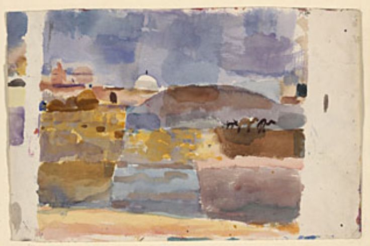 Paul Klee, Before the Gates of Kairouan