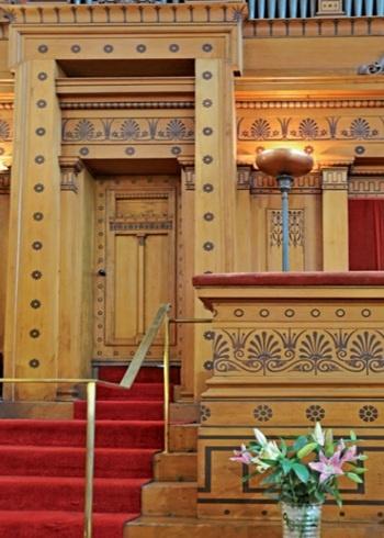 St Vincent Street Church Glasgow - architect Alexander 'Greek' Thomson