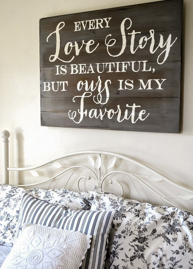 21 wood signs to add rustic glam to your decor - Wood Sign Design Ideas