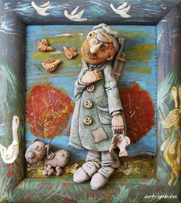 Изумительная керамика Андрея Махинина. Панно. | Наслаждение творчеством