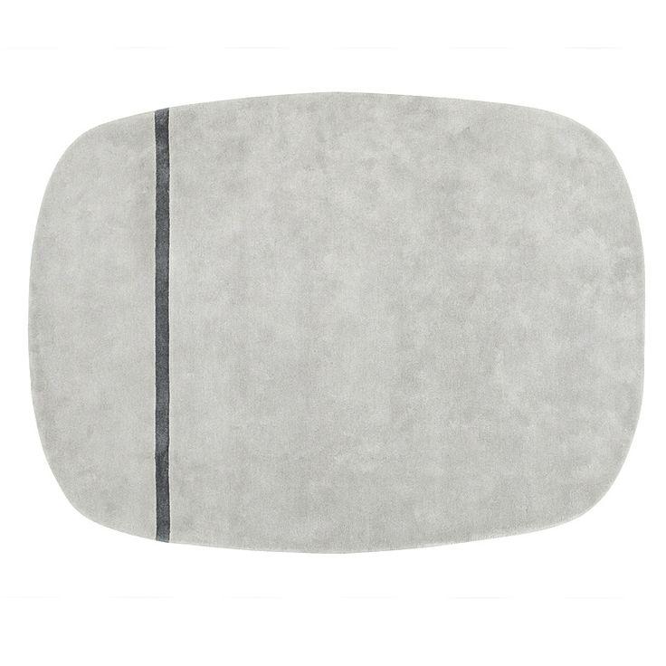 top3 by design - Normann Copenhagen - NM oona rug 175x240 grey