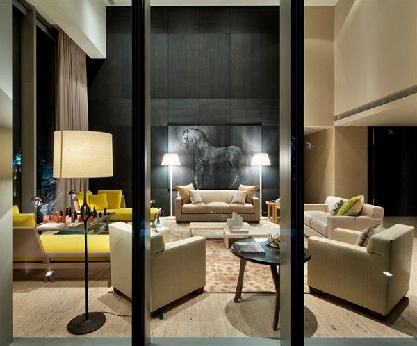 Signature Tower, Singapore is the first luxury apartment building fully decorated by Hermes