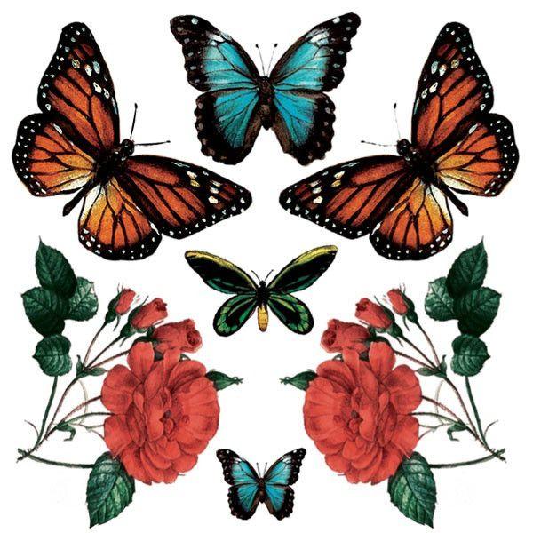 Butterflies - Set of 2 – TATZ temporary designer tattoo