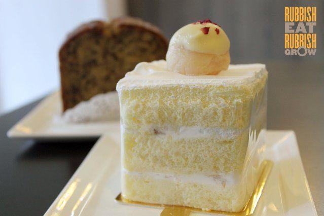 lychee martini cake - Bloomsbury Bakers Boon Keng