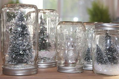 Love this idea: Good Ideas, Buena Ideas, Christmas Crafts, Gifts Ideas, French Country Cottages, Bottle Brushes Trees, Kids Crafts, Christmas Decor, Christmas Galas