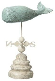 Whale Weather Vane eclectic outdoor decor