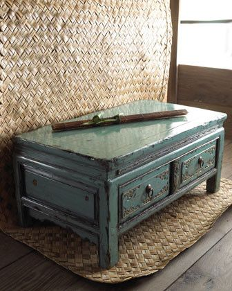 Teal - coffee tables - <3