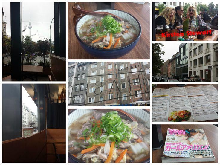 Hashi Izakaya (Japanese Kitchen) at Rosenthaler Str. 63, 10119 #Berlin. Ordered the Beef Udon Noodle Soup.
