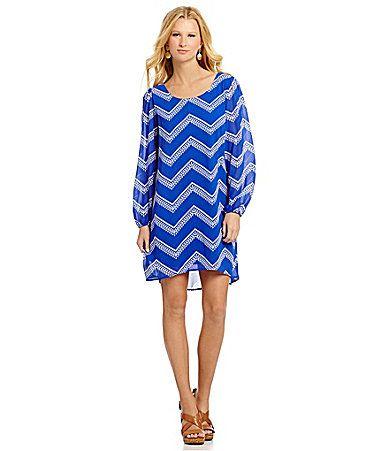 Takara LongSleeve BowBack Dress #Dillards