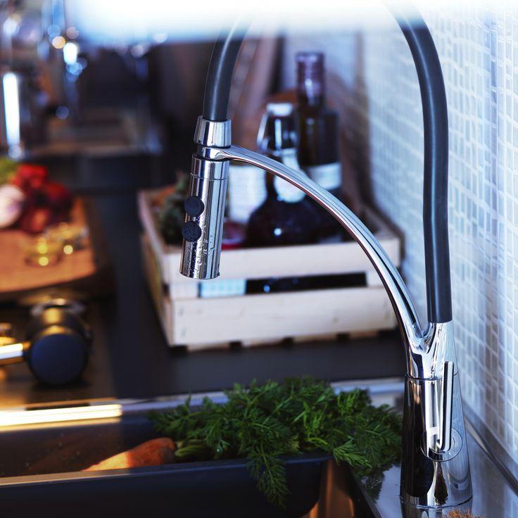 ALESKÄR keukenmengkraan | IKEA IKEAnl IKEAnederland kraan keukenkraan keuken koken eten drinken interieur wooninterieur inspiratie wooninspiratie METOD serie