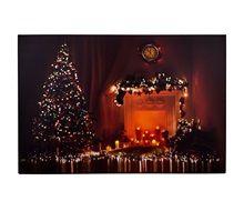 Χριστουγεννιάτικος Καμβάς Φωτιζόμενος 60x40