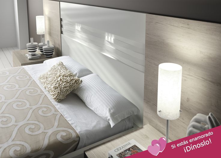 Cabeceros modernos, funcionales, para crear un ambiente acogedor donde relajarnos antes de dormir ¿a qué apetece leer o ver una peli o una serie? #Cabeceros #Dormitorios #Muebles #Estilo #Diseño #DecoraciondeInteriores #Fabricantes #FelizFinde #BuenaNoches Muebles Sárria [ Más información➔https://goo.gl/wLDnnA ]
