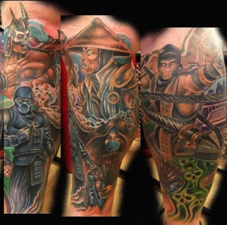 7 Best Images About Mortal Kombat Tattoos Sub Zero And Kitana Costumes Maybe D On Pinterest