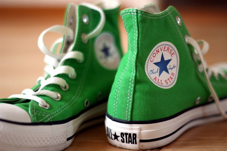 Green Converse - would prefer the shoes for jack xx