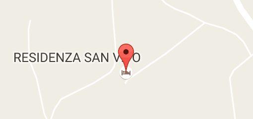 Mapa oblasti RESIDENZA SAN VITO