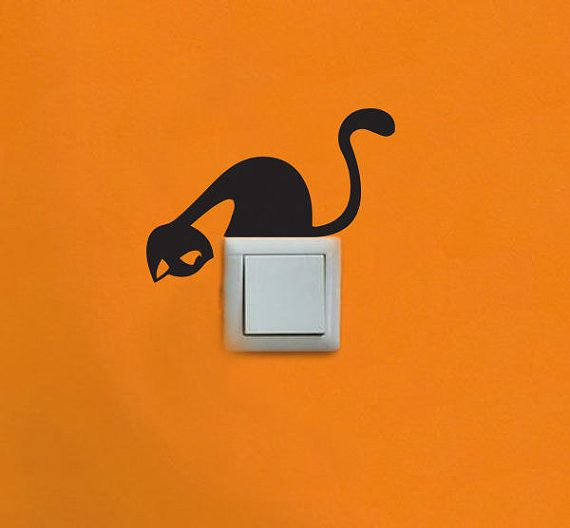 Hey, I found this really awesome Etsy listing at https://www.etsy.com/listing/178933473/cute-cat-vinyl-sticker-for-light-switch