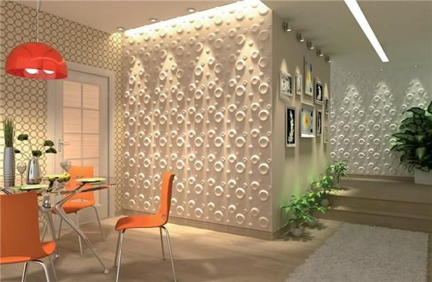 Decorative Wall Panels Adding Chic Carved Wood Patterns To Modern Wall Design 3D Wall Art