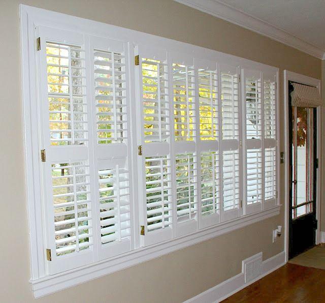 Make your own plantation shutters custom interior for Make your own shutters