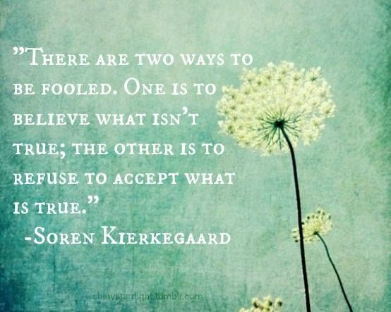 kierkegaards view on faith Reports and interprets kierkegaard's views on this issue at section (b) i of his   subjective decision to embrace the christian faith is the only adequate basis.