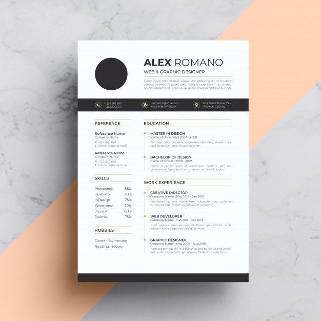 Resume Business Card Mock Up Modern Business Cards Business