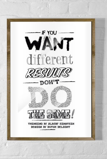 if you want different results don't do the same...