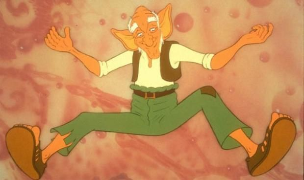 Looking back at The BFG (1989) | Den of Geek -The BFG's trump card was undoubtedly having David Jason voice the lead role. Also the man behind Mr Toad, Danger Mouse and the original vegetarian vampire .