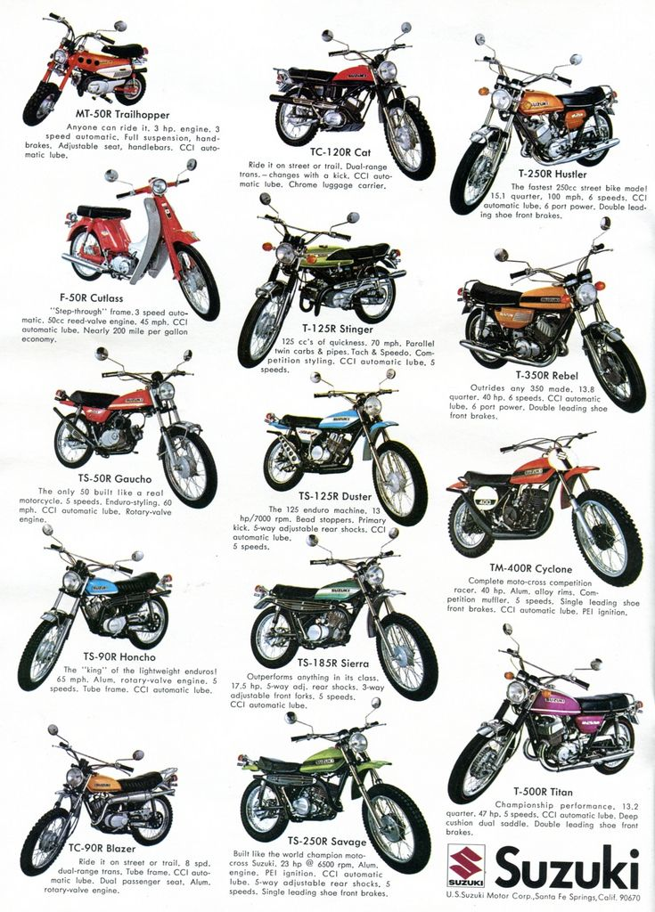 1971 Suzuki Motorcycles Advertising Hot Rod Magazine March 1971 | by SenseiAlan