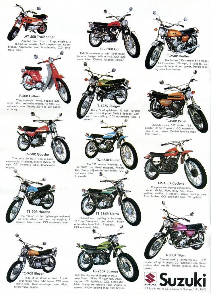 1971 Suzuki Motorcycles Advertising Hot Rod Magazine March 1971 | by SenseiAlan