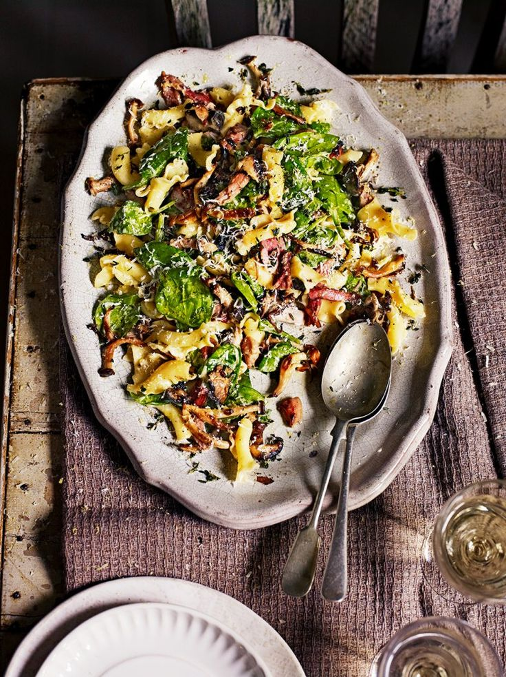 Winter Pasta Salad http://www.jamieoliver.com/recipes/pasta-recipes/winter-pasta-salad/