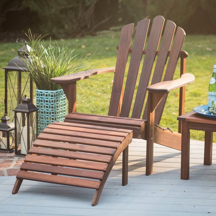 Have To Have It Belham Living Richmond Deluxe Adirondack