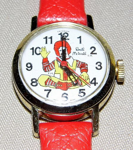 Vintage Ronald Mcdonald Swiss