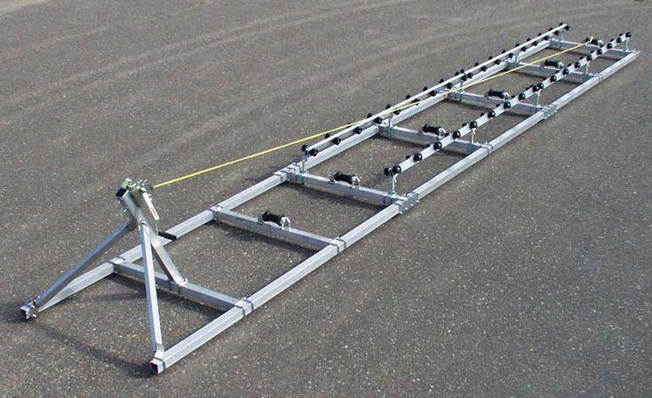 Boat Roller Ramps | Boat trailer, Pontoon boat, Pedal boat