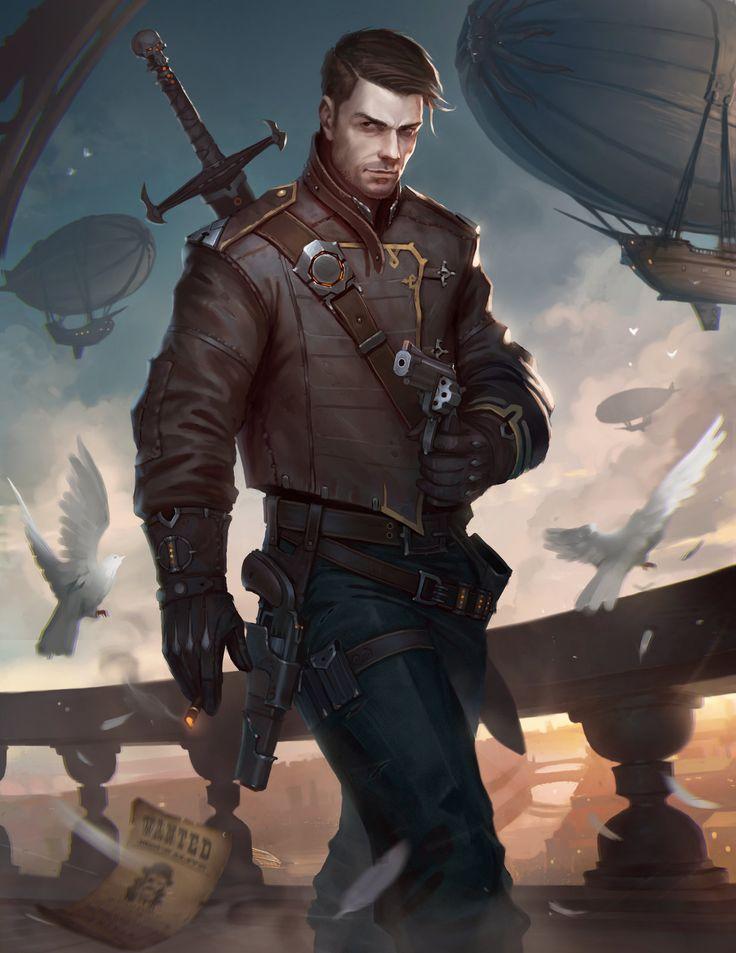 "Collard - ""The Warrior"", Aleksey Bayura on ArtStation at https://www.artstation.com/artwork/PorqL"