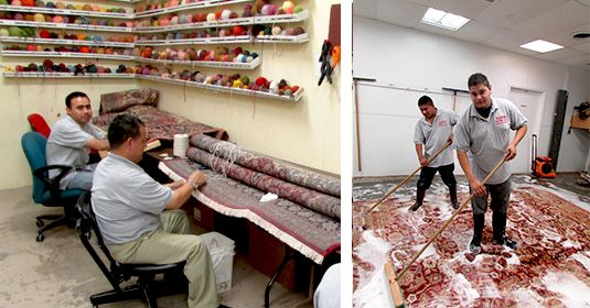 Sam Antique Rugs offers best #Rug_cleaning_Service for #Oriental_Rugs_Repair