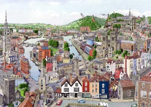 Artist Martin Stuart Moore's 'Memories of Bristol II' that I spotted on Google.
