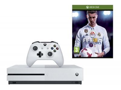 Buy Xbox One console with FIFA 18 after viewing deals on here. Compare shops on services: Buy Now Pay Later • Cheapest price • Click & Collect • FREE Next Day Delivery • PayPal checkout • Warranty Plans • Buy in 3-clicks with Fast & FREE UK delivery.