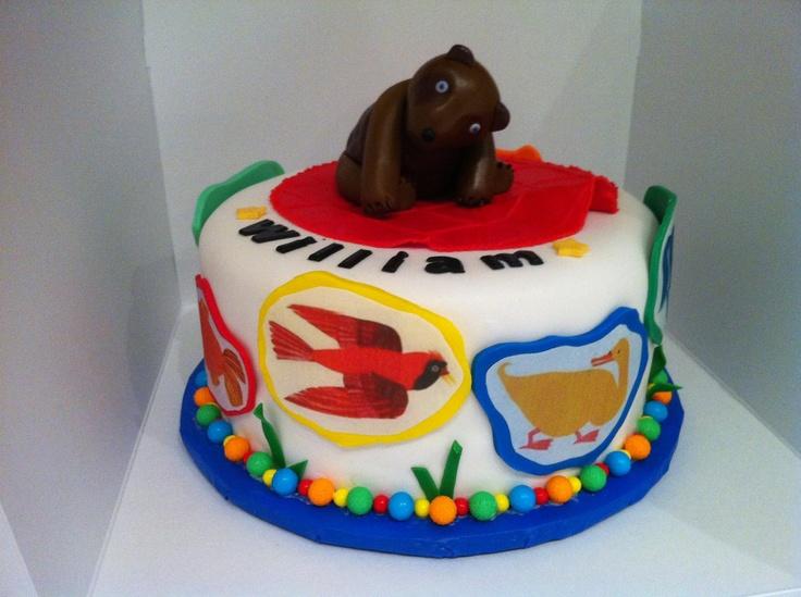 Brown Bear Cake Ideas