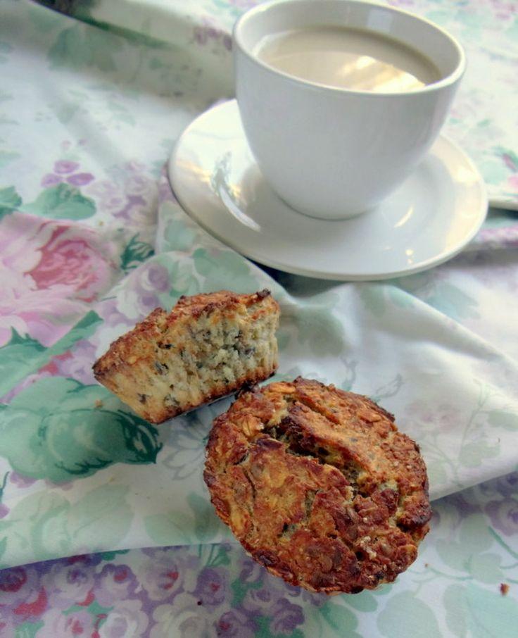 jedzenie do pudełka : muffinki jabłkowe bez mąki