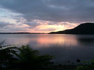 Sunrise from Fred's Camp, Rakiura Stewart Island New Zealand