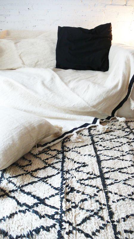 the Moroccan Wool Rug