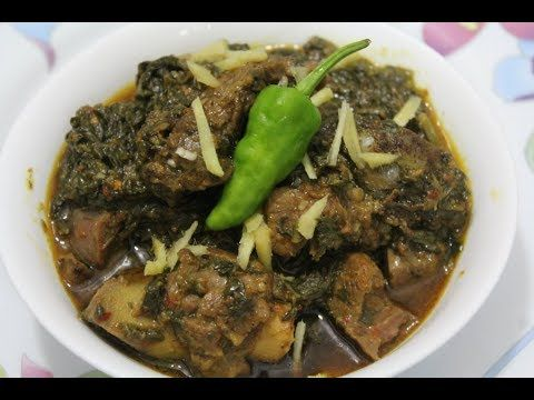 Palak Gosht (mutton) || Mutton and Spinach Curry