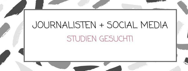 Journalisten Social Media #study #socialmedia #journalism