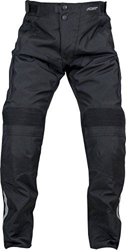 Pilot Motosport Men's Dura Motorcycle Over Pants (34-36) (Black, Large). For product info go to:  https://www.caraccessoriesonlinemarket.com/pilot-motosport-mens-dura-motorcycle-over-pants-34-36-black-large/