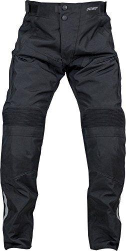 Pilot Motosport Men's Dura Motorcycle Over Pants (34-36) (Black, Large). For product info go to:  https://www.caraccessoriesonlinemarket.com/pilot-motosport-mens-dura-motorcycle-over-pants-34-36-black-large/