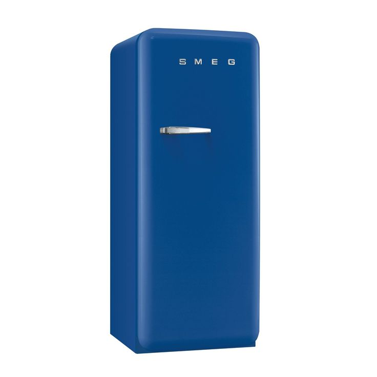 smeg fab28qbl1 50u0027s retro style blue fridge with ice box