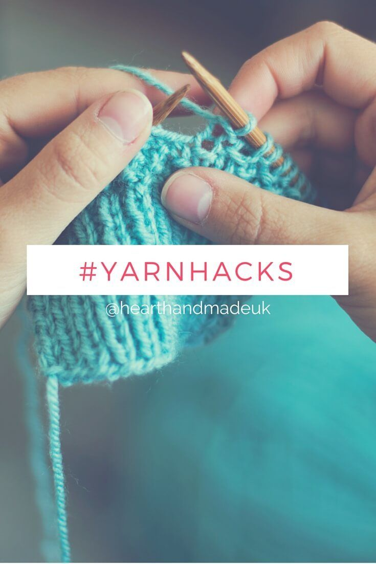 20 Insanely Clever Yarn Hacks That Will Make Your Next Project Easier! http://www.hearthandmade.co.uk/yarn-hacks/