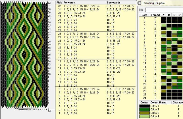 24 tarjetas, 4 colores , repite cada 8 movimientos  // sed_234 diseñado en GTT༺❁