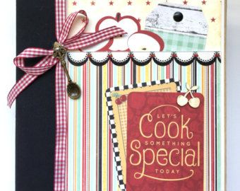 Mama cáncer Scrapbook diario álbum Mini Kit o por ArtsyAlbums