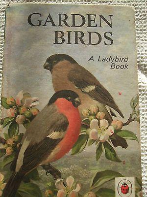 Vintage Ladybird Book Garden Birds 18p Matt