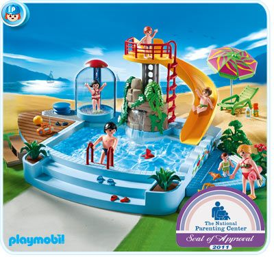 119 best ideas about toys games on squidoo on pinterest for Piscine playmobil